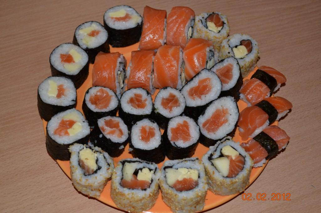Готовим суши и роллы сами. 13282