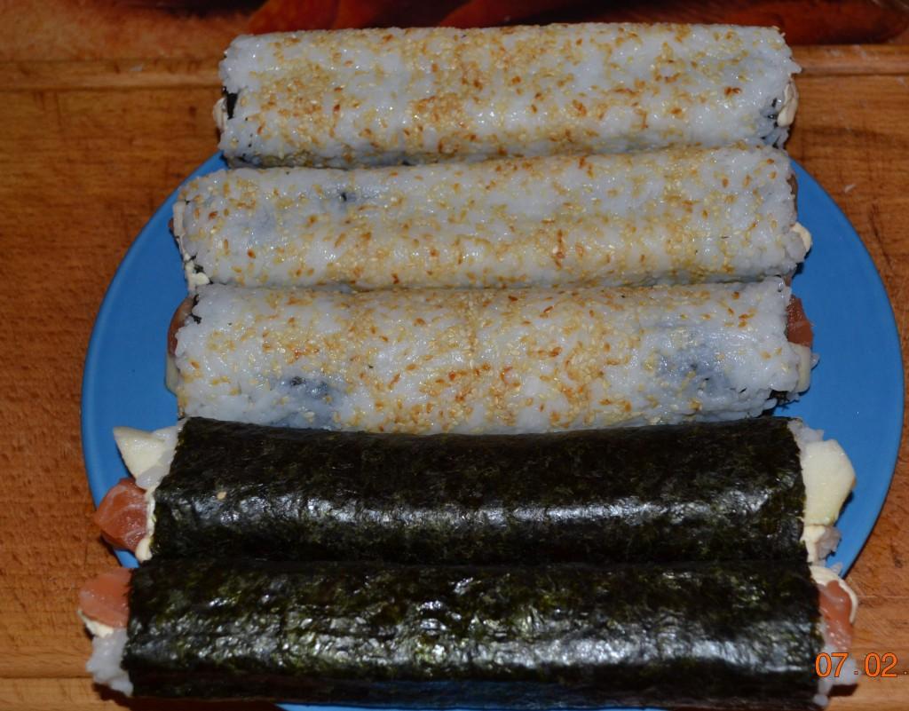Готовим суши и роллы сами. 25224