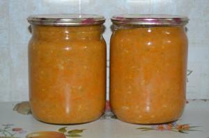 Рецепт приготовления кабачковой икры