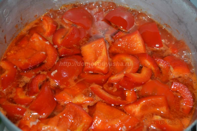 Как сделать лечо из болгарского перца с  716