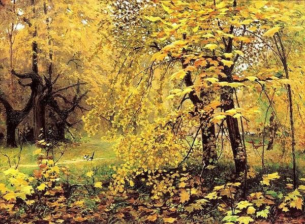 Осень в живописи