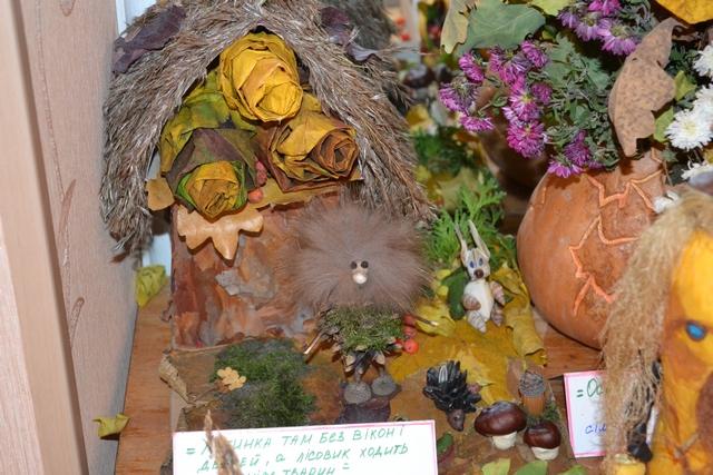 детские поделки на тему осень