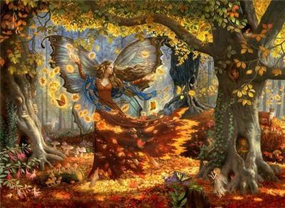 картинки сказочная осень