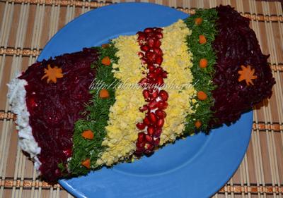 Самые красивые салаты рецепты с фото