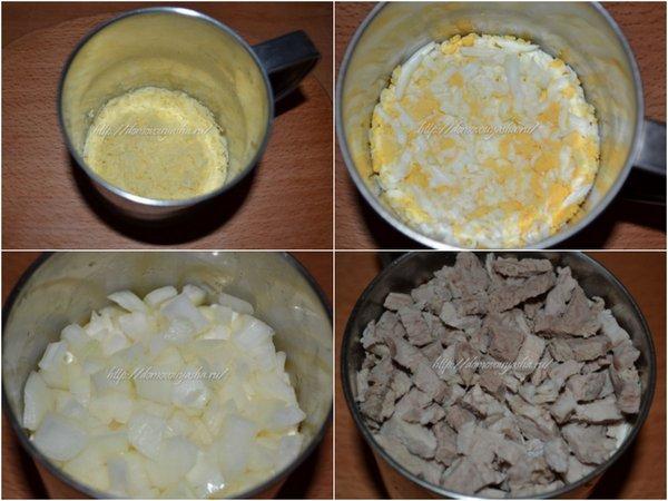 Салат мужской каприз пошаговый рецепт с фото