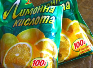 Лимонная кислота применение
