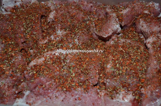 Рецепт шашлыка из свинины с фото