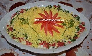 салат с рисом и огурцом рецепт с фото