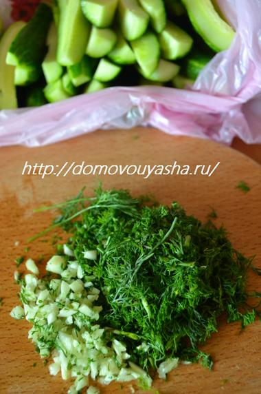 малосольные огурцы быстрого приготовления рецепт