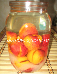 наливка из абрикос на водке простой рецепт