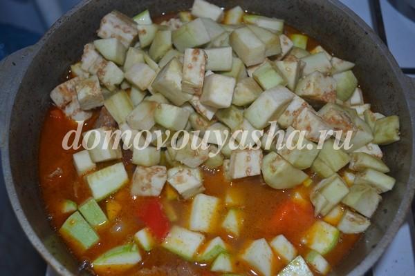 Рецепт шурпы из говядины