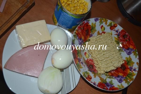 салат из мивины рецепт