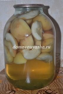 яблочный компот рецепты