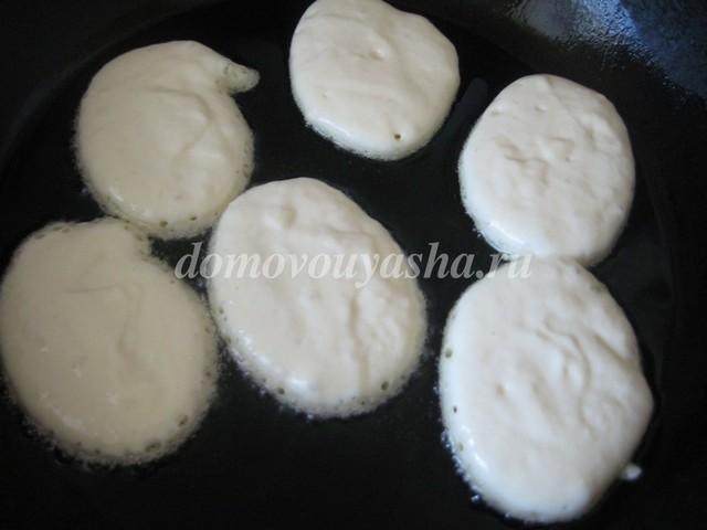 рецепт приготовления оладьев на кефире