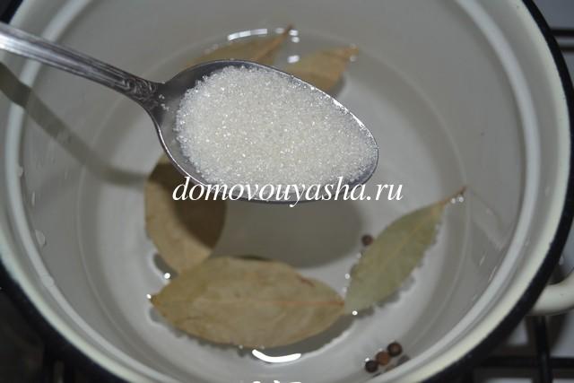 рецепт скумбрии пряного посола