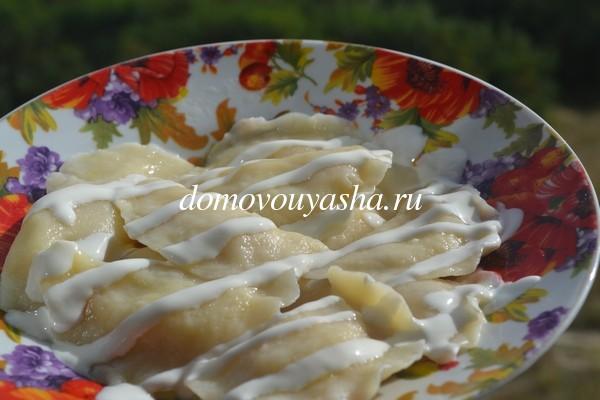вареники с картошкой и творогом