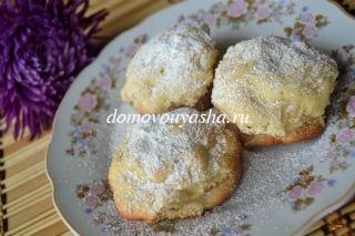 Печенье с яблоками и корицей.