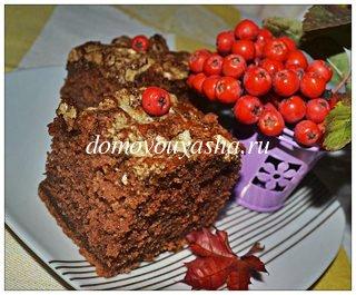 манник шоколадный рецепт с фото