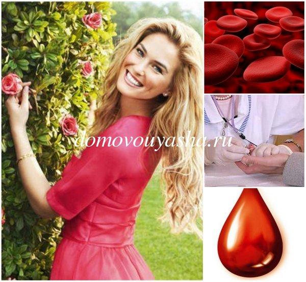 Какая норма гемоглобина в крови у женщин
