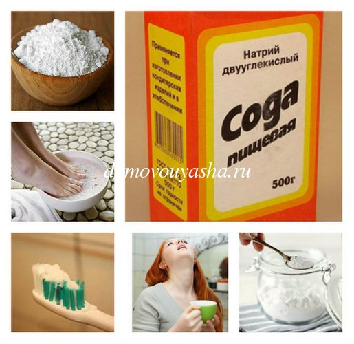 Сода пищевая лечебные свойства, противопоказания.
