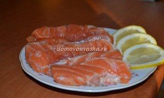 как солить красную рыбу рецепт с фото