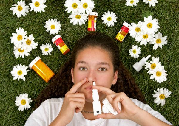 аллергия на цветы симптомы