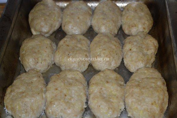 кабачки фаршированные куриным фаршем в духовке рецепт