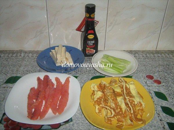 рецепт приготовления суши в домашних условиях