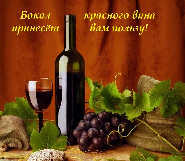 красное вино польза +и вред