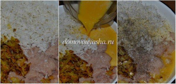 куриные тефтели с рисом фото рецепт4