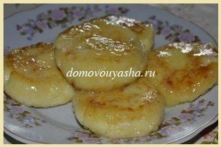 сырники с манкой без муки в сметане