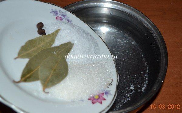 Засолить скумбрию в домашних условиях рецепт с фото