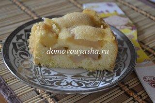 пошаговый рецепт приготовления шарлотки с яблоками фото