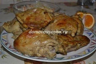 приготовить куриные бедрышки в духовке рецепт