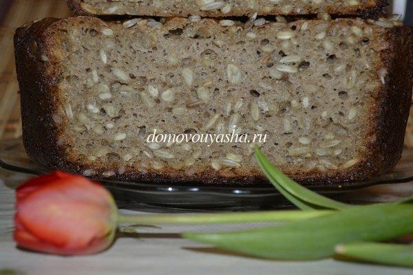 хлеб ржаной на бездрожжевой опаре