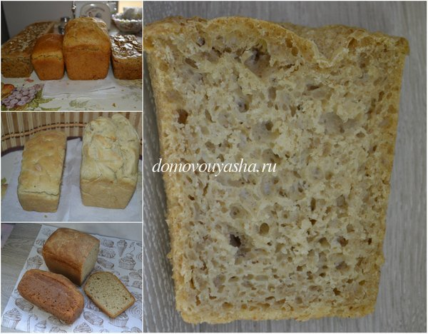 Домашний хлеб с солодом в духовке