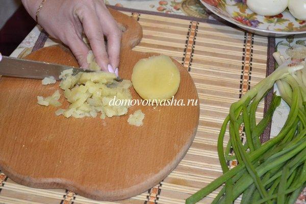 как приготовить окрошку на майонезе