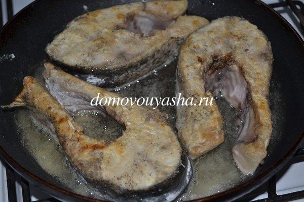 Как вкусно пожарить толстолобика на сковороде