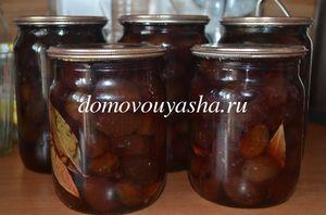Вкусные маринованные сливы рецепт