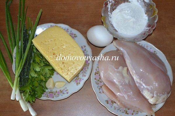 Нежные куриные котлеты рубленые с сыром
