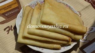Рецепты блинов с пошаговым фото