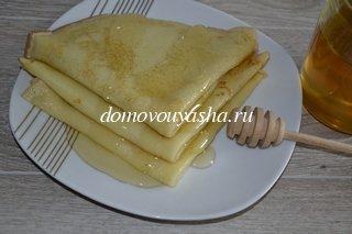 Тонкие блины на сыворотке рецепт с фото