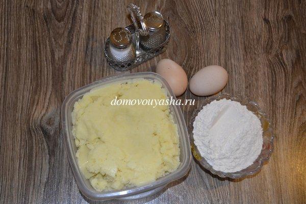 Что можно сделать из пюре картофельного фото