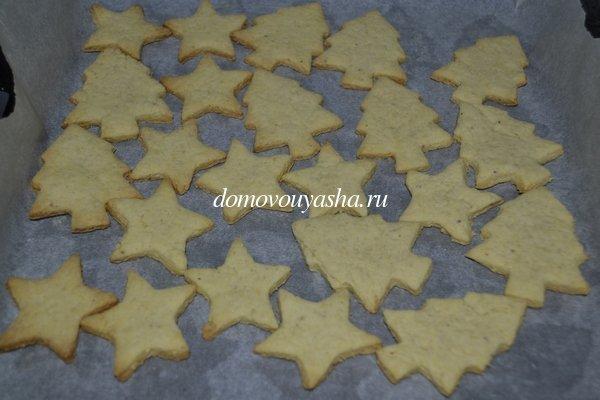 Простое новогоднее печенье рецепт с фото