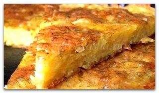 Рецепт приготовления картофельной запеканки в духовке