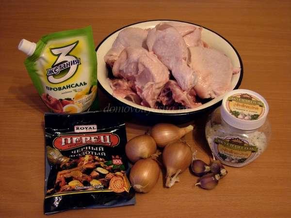 Рецепт курицы в стеклянной банке в духовке