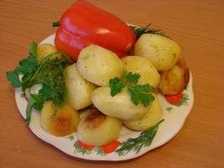 Рецепт запекания картофеля в духовке в фольге