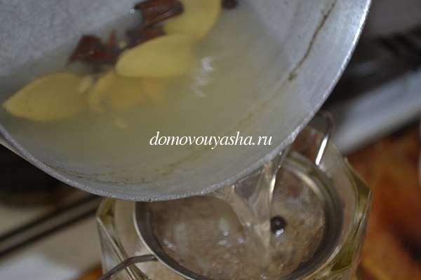 Рецепт приготовления напитка сбитень