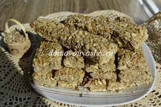 Рецепт козинаков из семечек в домашних условиях