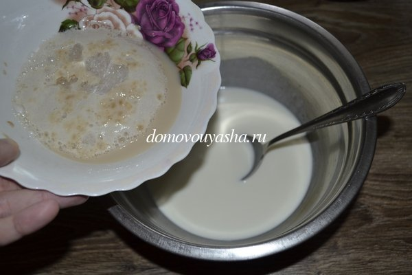 Кулич на сливках рецепт с фото